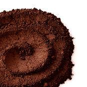 Косметика ручной работы. Ярмарка Мастеров - ручная работа Темно-коричневые минеральные тени-подводка, матовые. Handmade.