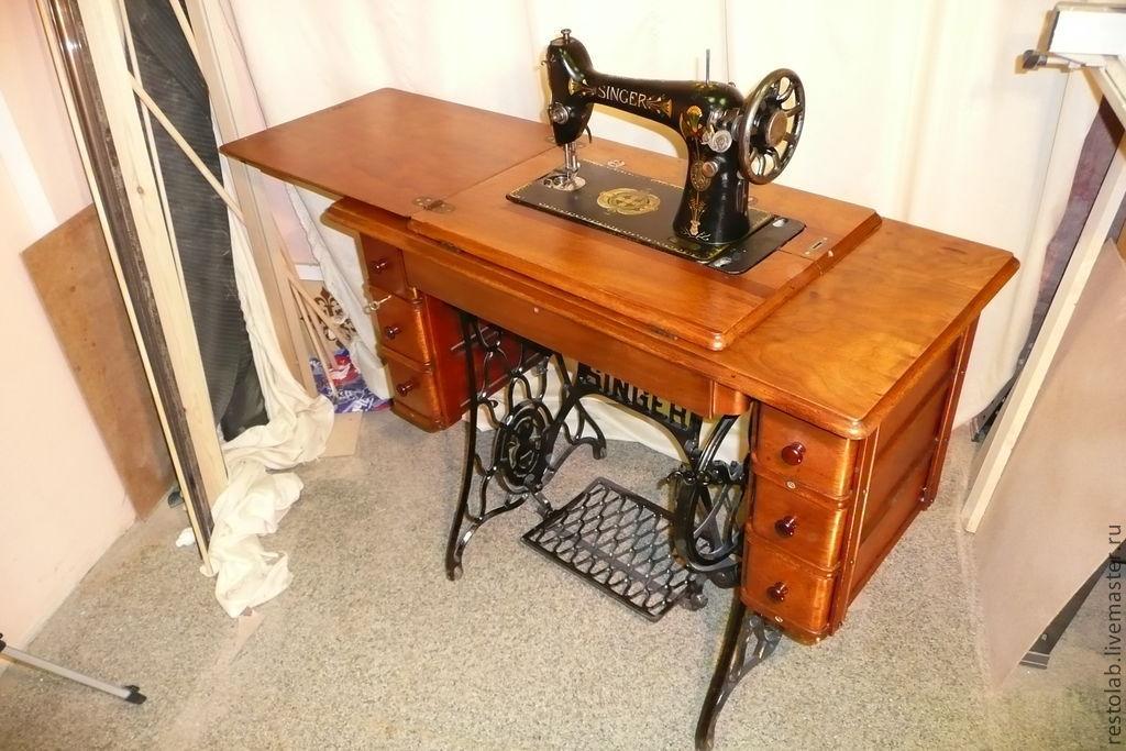 Реставрация швейной машинки зингер своими руками 664