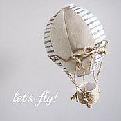 Для дома и интерьера ручной работы. Ярмарка Мастеров - ручная работа Воздушный шарик в морском стиле. Handmade.