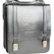Сумки и аксессуары handmade. Livemaster - original item Leather tablet Premium black. Handmade.