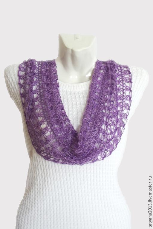 шарф, купить шарф, ажурный шарф, шарф вязаный, женский шарф, подарок, аксессуар, подарок девушке, подарок маме, подарок подруге, подарок сестре, подарок на день рождения, подарок жене, ручная работа