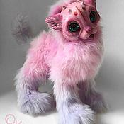 Куклы и игрушки ручной работы. Ярмарка Мастеров - ручная работа PollenCat Daisy. Котик. Handmade.