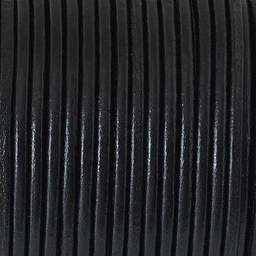 Материалы для творчества ручной работы. Ярмарка Мастеров - ручная работа Шнур кожаный 2 мм, черный. Handmade.