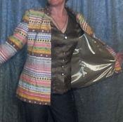 Одежда handmade. Livemaster - original item The author`s work.Spring-summer jacket
