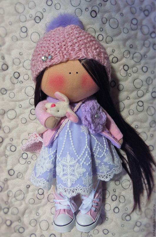 Куклы Тильды ручной работы. Ярмарка Мастеров - ручная работа. Купить кукла ручной работы. Handmade. Фиолетовый, кукла