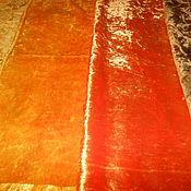 Материалы для творчества ручной работы. Ярмарка Мастеров - ручная работа Плюш винтажный жёлтый. Handmade.