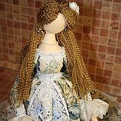 Куклы и игрушки ручной работы. Ярмарка Мастеров - ручная работа Дама в голубом. Handmade.