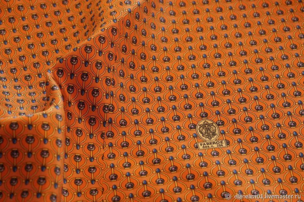 Итальянские ткани. Шелк галстучный Фаберже. Ткани для галстуков, Ткани, Волгоград,  Фото №1