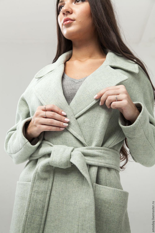 Wool coat 'Pistachio', Coats, Moscow,  Фото №1