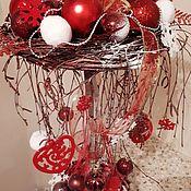 Подарки к праздникам ручной работы. Ярмарка Мастеров - ручная работа Новогодняя фантазия. Handmade.