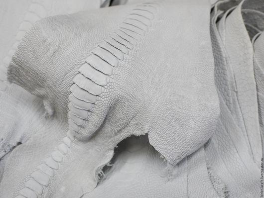 Другие виды рукоделия ручной работы. Ярмарка Мастеров - ручная работа. Купить Лапы страуса. Handmade. Кожа страуса, кожа