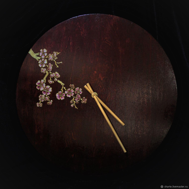 Часы Сакура.Перед рассветом, Часы классические, Москва,  Фото №1