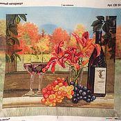 Картины и панно ручной работы. Ярмарка Мастеров - ручная работа винный натюрморт. Handmade.