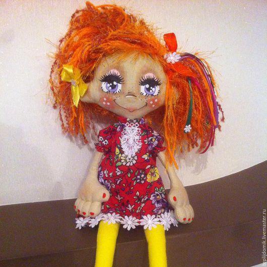 Куклы и игрушки ручной работы. Ярмарка Мастеров - ручная работа. Купить Куколка домовушка-берегиня. Handmade. Комбинированный, кукла интерьерная