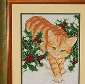 Картины и панно ручной работы. Ярмарка Мастеров - ручная работа Рыжий охотник. Handmade.