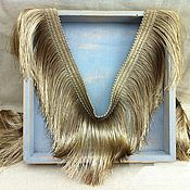 Материалы для творчества handmade. Livemaster - original item Luxurious Golden fringe braid. The Prediction Of The Mayan. Handmade.