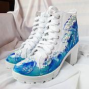Обувь ручной работы handmade. Livemaster - original item Shoes female high-heeled