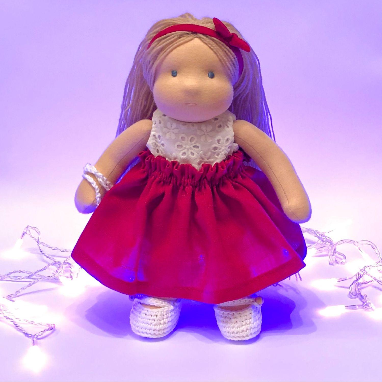 Вальдорфская кукла, 26 см, Вальдорфские куклы и звери, Москва,  Фото №1