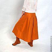 Одежда ручной работы. Ярмарка Мастеров - ручная работа Юбка со шлейфом. Handmade.