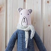 Куклы и игрушки ручной работы. Ярмарка Мастеров - ручная работа Медвежонок Гриша. Handmade.