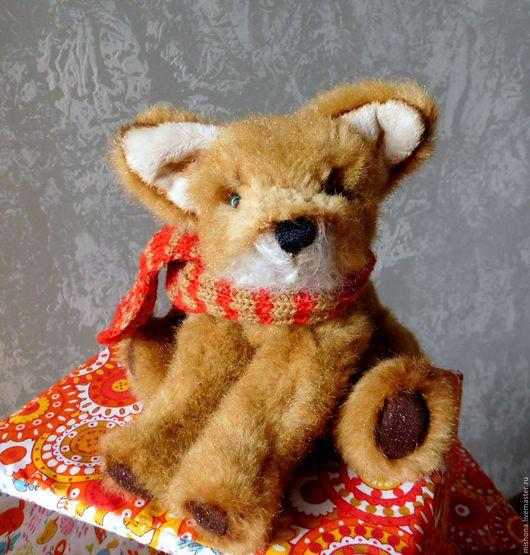 Мишки Тедди ручной работы. Ярмарка Мастеров - ручная работа. Купить Лис. Handmade. Оранжевый, рыжий, лисенок, лисенок игрушка