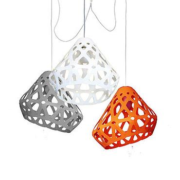 Для дома и интерьера ручной работы. Ярмарка Мастеров - ручная работа ZAHA LIGHT трехцветная трехрожковая люстра 14. Handmade.