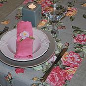 Для дома и интерьера ручной работы. Ярмарка Мастеров - ручная работа Раннеры льняные  с розами. Handmade.