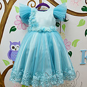 Одежда handmade. Livemaster - original item Beautiful dress for girl! The Model Of
