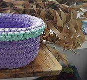 Для дома и интерьера ручной работы. Ярмарка Мастеров - ручная работа Корзинка для мелочей. Handmade.