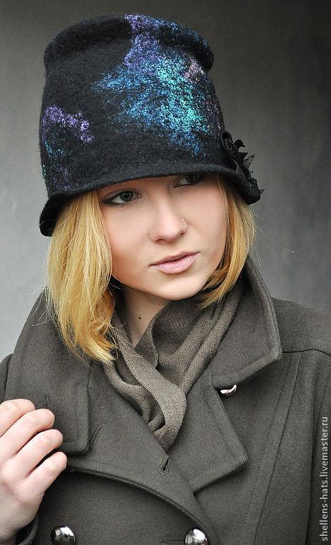 """Шляпы ручной работы. Ярмарка Мастеров - ручная работа. Купить Шляпка """"Denmark"""". Handmade. Шапка, орнамент, зима, мороз, пауа"""