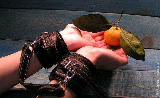 Для других животных, ручной работы. Ярмарка Мастеров - ручная работа. Купить ДЛЯ ДВОИХ :) кожаные браслеты. Handmade.