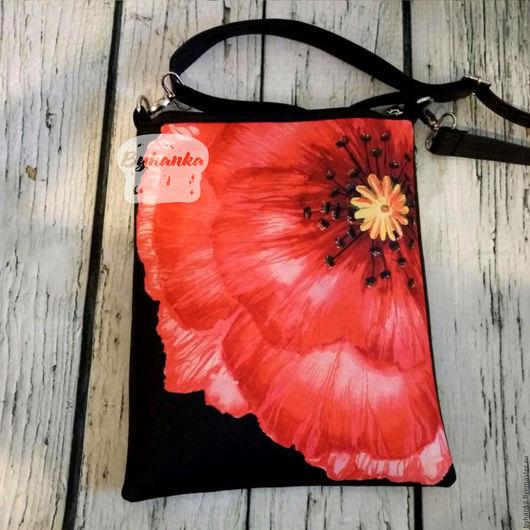 Женские сумки ручной работы. Ярмарка Мастеров - ручная работа. Купить Сумка через плечо. Handmade. Сумка из кожи