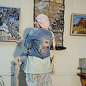 Одежда ручной работы. Ярмарка Мастеров - ручная работа курточка -Птицы. Handmade.