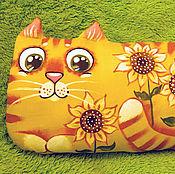 Куклы и игрушки ручной работы. Ярмарка Мастеров - ручная работа Подсолнечный кот. Handmade.