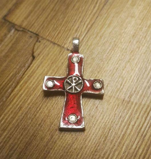 """Кулоны, подвески ручной работы. Ярмарка Мастеров - ручная работа. Купить Крест """"Следуй за Мною"""" РАСПРОДАЖА. Handmade. Миниатюра"""