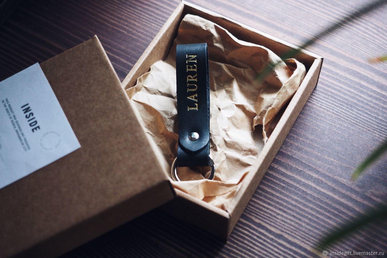 Брелок именной в подарочной коробке, Брелок, Архангельск,  Фото №1