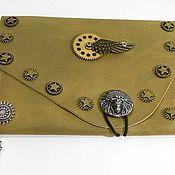Сумки и аксессуары handmade. Livemaster - original item Bag for tablet-style steampunk