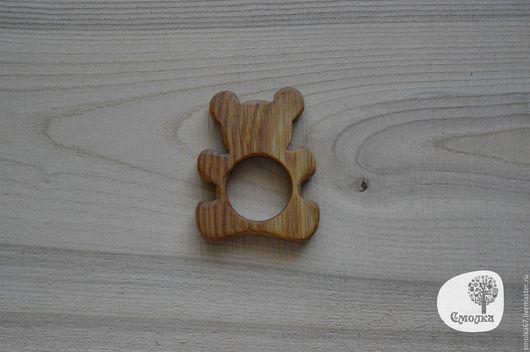 """Развивающие игрушки ручной работы. Ярмарка Мастеров - ручная работа. Купить Прорезыватель (грызунок) """"Мишка"""" . Развивающая деревянная игрушка.. Handmade."""