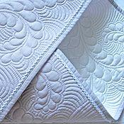 Для дома и интерьера handmade. Livemaster - original item Blanket on the statement with the bow. Handmade.
