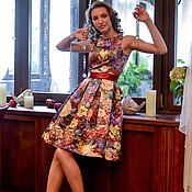 Одежда ручной работы. Ярмарка Мастеров - ручная работа цветы бордо. Handmade.
