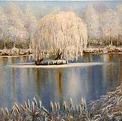 Картины и панно handmade. Livemaster - original item Winter. Beginning. Handmade.