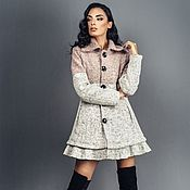 Одежда handmade. Livemaster - original item Women`s woolen short coat. Handmade.