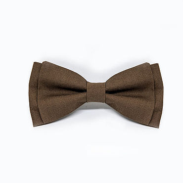 Accessories handmade. Livemaster - original item Bow tie brown. Handmade.