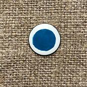 Материалы для творчества handmade. Livemaster - original item Paint overglaze Dulevo №510 turquoise. Handmade.