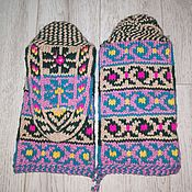 Аксессуары handmade. Livemaster - original item Jurabs 38-39p. - Kubachinsky knitted wool socks handmade. Handmade.