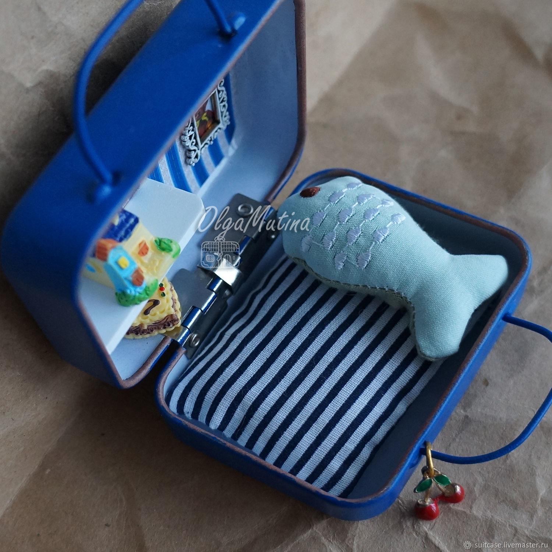 Подушка-рыбка, Мебель для кукол, Чебоксары,  Фото №1