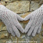 Аксессуары ручной работы. Ярмарка Мастеров - ручная работа ажурные перчатки. Handmade.