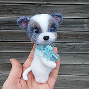 Куклы и игрушки ручной работы. Ярмарка Мастеров - ручная работа Щенок Тотошка. Handmade.