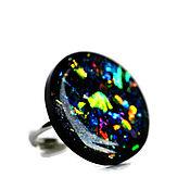 Украшения handmade. Livemaster - original item Space ring made of epoxy resin. Handmade.