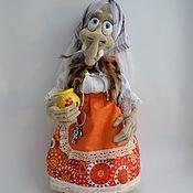 Куклы и игрушки handmade. Livemaster - original item Baba Yaga. Handmade.
